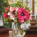 фото Искусственные цветы в интерьере от 26.03.2018 №072 - Artificial flowe - design-foto.ru