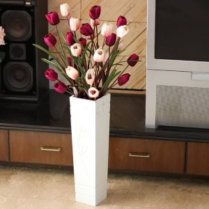 фото Искусственные цветы в интерьере от 26.03.2018 №076 - Artificial flowe - design-foto.ru