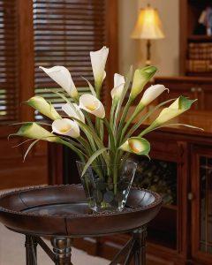 фото Искусственные цветы в интерьере от 26.03.2018 №121 - Artificial flowe - design-foto.ru 343453467345