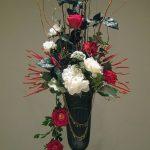 фото Искусственные цветы в интерьере от 26.03.2018 №130 - Artificial flowe - design-foto.ru