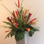 фото Искусственные цветы в интерьере от 26.03.2018 №136 - Artificial flowe - design-foto.ru 2623426234