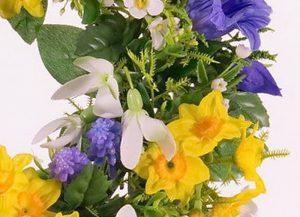 фото Искусственные цветы в интерьере от 26.03.2018 №138 - Artificial flowe - design-foto.ru
