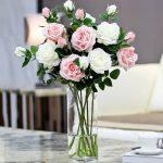 фото Искусственные цветы в интерьере от 26.03.2018 №143 - Artificial flowe - design-foto.ru