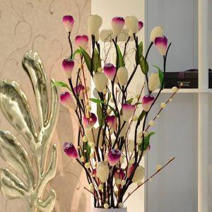 фото Искусственные цветы в интерьере от 26.03.2018 №146 - Artificial flowe - design-foto.ru