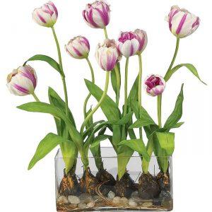 фото Искусственные цветы в интерьере от 26.03.2018 №149 - Artificial flowe - design-foto.ru