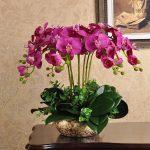 фото Искусственные цветы в интерьере от 26.03.2018 №154 - Artificial flowe - design-foto.ru