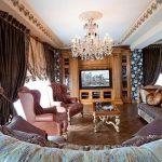 фото Классический стиль в интерьере квартиры от 26.03.2018 №025 - Clas - design-foto.ru