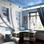 фото Морской стиль в интерьере от 19.03.2018 №035 - Marine style in the - design-foto.ru
