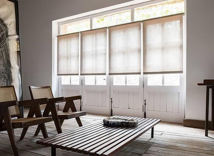 фото Рулонные жалюзи в интерьере от 17.03.2018 №001 - Roller blinds in the - design-foto.ru