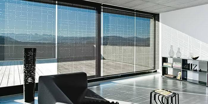 фото Рулонные жалюзи в интерьере от 17.03.2018 №004 - Roller blinds in the - design-foto.ru