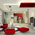 фото Современный интерьер гостиной от 20.03.2018 №028 - Modern interior - design-foto.ru