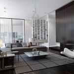 фото Современный интерьер гостиной от 20.03.2018 №037 - Modern interior - design-foto.ru