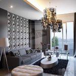 фото Современный интерьер гостиной от 20.03.2018 №053 - Modern interior - design-foto.ru