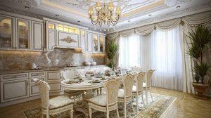 фото Стиль барокко в интерьере от 20.03.2018 №001 - Baroque style in the in - design-foto.ru