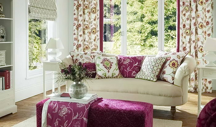 фото текстильные изделия в интерье от 19.03.2018 №001 - textiles in the - design-foto.ru