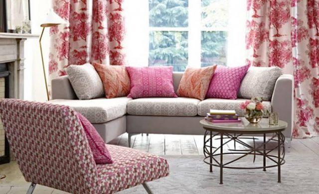 Украшение интерьера при помощи текстильных изделий