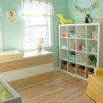 фото Интерьер детской комнаты от 05.04.2018 №018 - Interior of a nursery - design-foto.ru