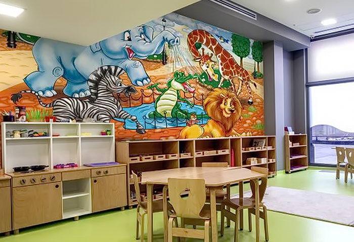фото Интерьер детской комнаты от 05.04.2018 №019 - Interior of a nursery - design-foto.ru