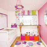 фото Интерьер детской комнаты от 05.04.2018 №020 - Interior of a nursery - design-foto.ru