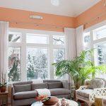фото Персиковый цвет в интерьере от 04.04.2018 №056 - Peach color - design-foto.ru
