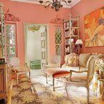 фото Персиковый цвет в интерьере от 04.04.2018 №061 - Peach color - design-foto.ru