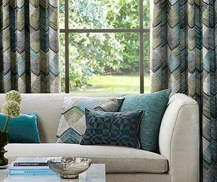 фото ткани в интерьере от 02.03.2018 №026 - fabrics in the interior - design-foto.ru