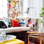 фото ткани в интерьере от 02.03.2018 №046 - fabrics in the interior - design-foto.ru