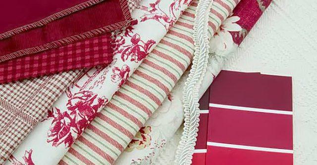 Дизайн ткани в интерьере