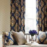 фото ткани в интерьере от 02.03.2018 №056 - fabrics in the interior - design-foto.ru