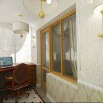 фото Интерьер лоджии от 27.04.2018 №021 - Interior of the loggia - design-foto.ru