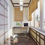 фото Интерьер лоджии от 27.04.2018 №032 - Interior of the loggia - design-foto.ru