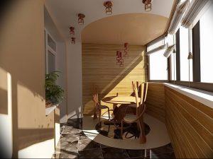 фото Интерьер лоджии от 27.04.2018 №039 - Interior of the loggia - design-foto.ru
