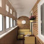 фото Интерьер лоджии от 27.04.2018 №096 - Interior of the loggia - design-foto.ru