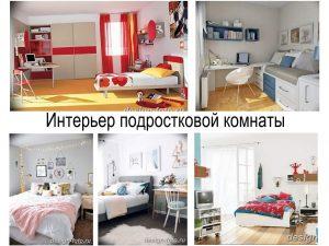 Интерьер подростковой комнаты - информация про особенности и коллекция фото примеров готовых проектов