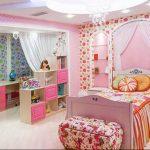 Фото Интерьер комнаты для девочки 20.06.2019 №001 - Interior room for girl - design-foto.ru