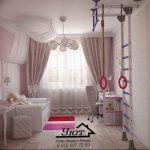 Фото Интерьер комнаты для девочки 20.06.2019 №013 - Interior room for girl - design-foto.ru