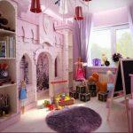 Фото Интерьер комнаты для девочки 20.06.2019 №026 - Interior room for girl - design-foto.ru