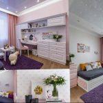 Фото Интерьер комнаты для девочки 20.06.2019 №027 - Interior room for girl - design-foto.ru
