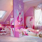 Фото Интерьер комнаты для девочки 20.06.2019 №034 - Interior room for girl - design-foto.ru