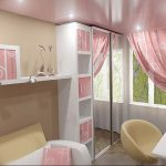 Фото Интерьер комнаты для девочки 20.06.2019 №047 - Interior room for girl - design-foto.ru