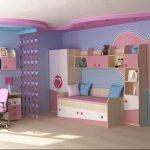 Фото Интерьер комнаты для девочки 20.06.2019 №048 - Interior room for girl - design-foto.ru