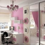 Фото Интерьер комнаты для девочки 20.06.2019 №074 - Interior room for girl - design-foto.ru