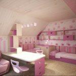 Фото Интерьер комнаты для девочки 20.06.2019 №113 - Interior room for girl - design-foto.ru