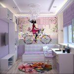 Фото Интерьер комнаты для девочки 20.06.2019 №125 - Interior room for girl - design-foto.ru