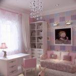 Фото Интерьер комнаты для девочки 20.06.2019 №142 - Interior room for girl - design-foto.ru