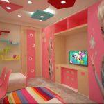 Фото Интерьер комнаты для девочки 20.06.2019 №172 - Interior room for girl - design-foto.ru