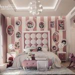 Фото Интерьер комнаты для девочки 20.06.2019 №404 - Interior room for girl - design-foto.ru
