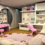 Фото Интерьер комнаты для девочки 20.06.2019 №438 - Interior room for girl - design-foto.ru