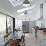 Фото Интерьер кухни в частном доме 06.02.2019 №006 - Kitchen interior - design-foto.ru