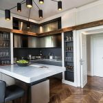 Фото Интерьер кухни в частном доме 06.02.2019 №012 - Kitchen interior - design-foto.ru